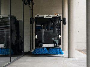 Klein, vielseitig und wendig präsentiert sich der Urban Sweeper 2.0