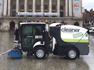 Der Urban-Sweeper S2.0 wurde mit Blick auf Effizienz entwickelt.