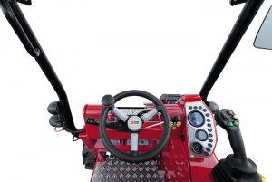 Der Gianni Ferrari Turboloader von Radlmaier, Cockpit