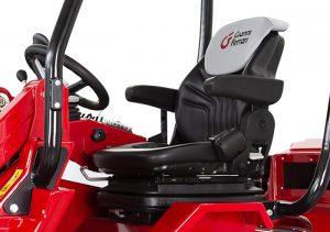 Der Gianni Ferrari Turboloader von Radlmaier mit Komfort Sitz.
