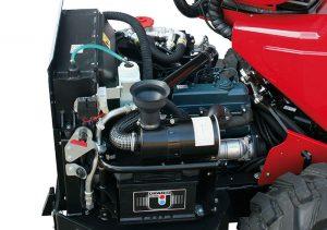 Der Motor des Gianni Ferrari Turboloader von Radlmaier.